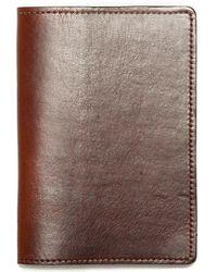 JW Hulme - American Heritage Leather Passport Wallet - Lyst