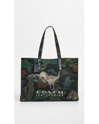 COACH - Canvas Rexy Tote - Lyst
