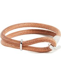 Miansai - Beacon Leather Bracelet - Lyst