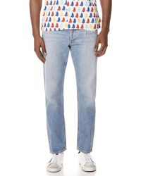 Agolde - Division Straight Jeans - Lyst