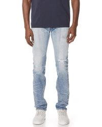 Fabric-Brand & Co. - Ezra Selvedge Slim Fit Jeans - Lyst