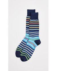 Paul Smith - Compo Stripe Socks - Lyst