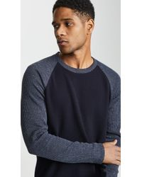 Vince - Raglan Crew Neck Sweater - Lyst