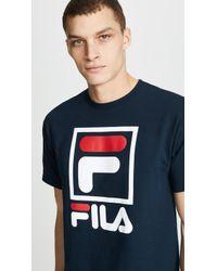 Fila - Stacked Tee Shirt - Lyst