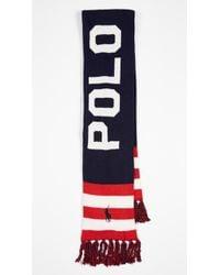 Polo Ralph Lauren - Vintage Polo Label Scarf - Lyst