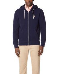Polo Ralph Lauren - Classic Fleece Full Zip Hoodie - Lyst