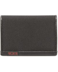 Tumi - Alpha Gusseted Card Case With Id Window - Lyst