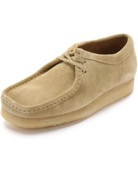 Clarks - Suede Wallabee Shoes - Lyst