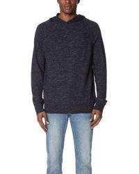 Vince - Seamed Pullover Hoodie - Lyst