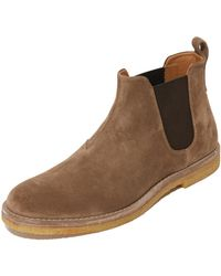 Vince - Sawyer Suede Chelsea Boots - Lyst