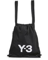 Y-3 - Mini Gym Bag - Lyst
