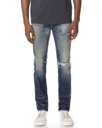 Fabric-Brand & Co. - Abram Selvedge Slim Fit Jeans - Lyst