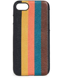 Paul Smith - Bright Stripe Iphone 7 & 8 Case - Lyst