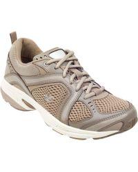 Easy Spirit - Zamper Leather Walking Shoes - Lyst