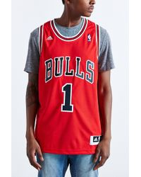 Adidas Chicago Bulls Derrick Rose Jersey - Lyst
