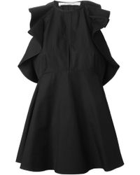Givenchy Ruffled Peplum Top - Lyst