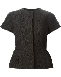 RED Valentino Waffle Weave Short Sleeved Jacket - Lyst