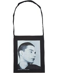 Raf Simons - Unisex Isolated Heroes Tote Bag In Black - Lyst
