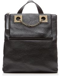 See By Chloé Leather Backpack black - Lyst