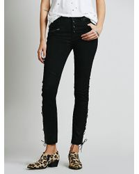 Free People Lone Ranger Relaxed Sknny - Lyst