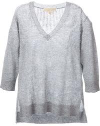 MICHAEL Michael Kors Knit Sweater - Lyst