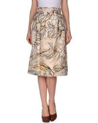 Honor 34 Length Skirt - Lyst