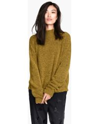 H&M Jumper in A Mohair Mix - Lyst