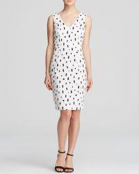 French Connection Dress - Polka Spray - Lyst
