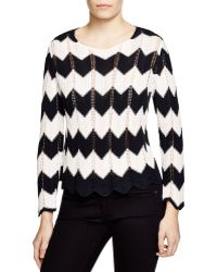 FRAME - Le Crochet Zigzag Jumper - Lyst