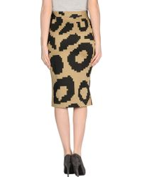 Vivienne Westwood Anglomania 3/4 Length Skirt - Lyst