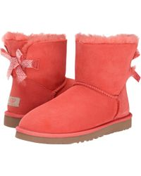 Ugg Mini Bailey Bow Scallop - Lyst