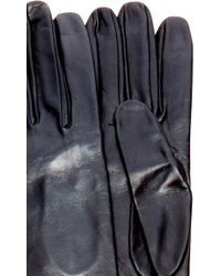 Imoni - Brown Nappa Leather Unlined Opera Gloves - Lyst