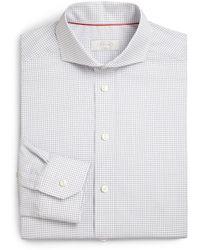 Eton of Sweden Checked Cotton Dress Shirt - Lyst