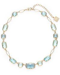Anne Klein Stone Collar Necklace - Lyst