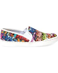 Steve Madden Womens Ecentrcm Sneakers - Lyst
