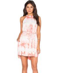 Gypsy 05 - Tied Waist Halter Mini Dress - Lyst