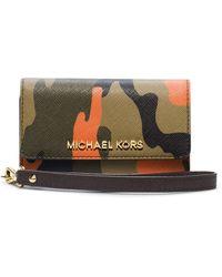 Michael by Michael Kors Camoprint Electronics Wristlet - Lyst