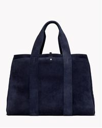 Theory Large Signature Tote In Cedar - Lyst