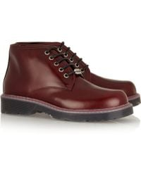 McQ by Alexander McQueen Leather Ankle Boots - Lyst