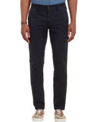 Grown & Sewn - The Lincoln Skinny-leg Trousers - Lyst