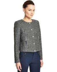 Catherine Malandrino - Tweed Jacket - Lyst