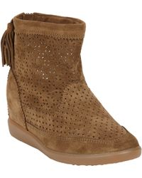 Isabel Marant Beslay Hidden Wedge Boot - Lyst