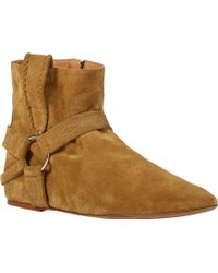 Etoile Isabel Marant Ralf Harness Boots - Lyst