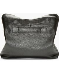 3.1 Phillip Lim - Black Grained Leather Document Case - Lyst