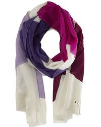 Kate Spade Abstract Bow Scarf - Lyst