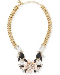 Kate Spade Glossy Petals Statement Necklace - Lyst