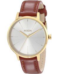 Nixon The Kensington Leather - Lyst