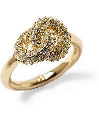Giles & Brother Archer Ring with Pave - Lyst