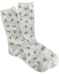 J.Crew Anchor Trouser Socks - Lyst