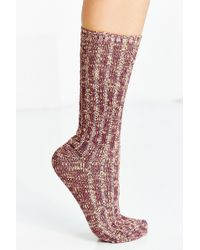 Urban Outfitters - Basic Marled Boot Sock - Lyst